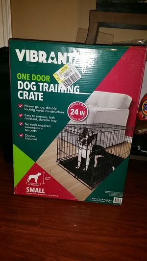 Dog training crate for Sale in Decatur, GA