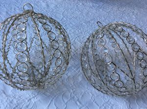 Christmas decorations spheres for Sale in Pembroke Pines, FL