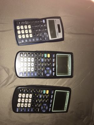 3 Texas instrumental calculators for Sale in Kingsport, TN