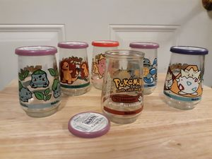 Pokemon jelly jars for Sale in Harrisburg, IL