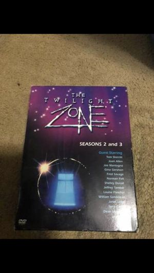 THE TWILIGHT ZONE SEASON 2 AND 3 DVD SET 7 DVDS TOTAL $5 for Sale in Elmira, NY