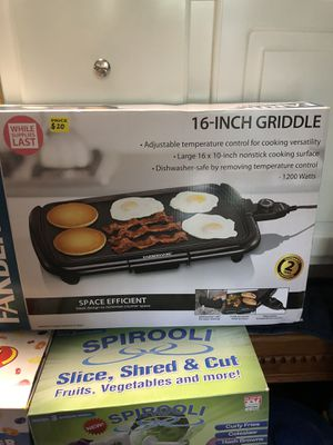 Griddle for Sale in Houston, TX