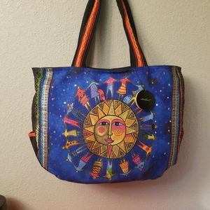 CANVAS ZIPPERED TOTE BAG for Sale in Harlingen, TX