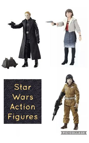 Set of (3) Star Wars Action Figures- New ! for Sale in Glendale Heights, IL