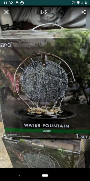 Brand New -2 matching water fountains for Sale in Payson, AZ