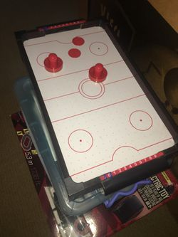 Electric mini air hockey table with air! for Sale in Redwood City,  CA