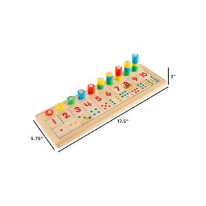 Wooden Montessori Math Board for Sale in Norfolk, VA