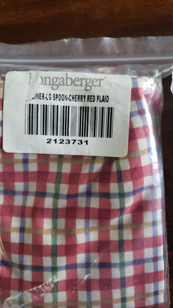 Retired Longaberger liners