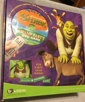 Shrek: Swamp Party DVD Game for Sale in Los Angeles, CA