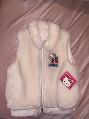 Hello Kitty fur vest for Sale in Fort Lauderdale, FL