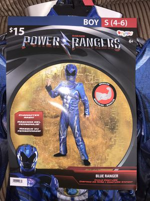 Power Rangers Boy Costume for Sale in Sanger, CA