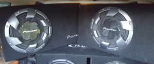 "Pioneer 12"" shallow mount subs for Sale in Tacoma, WA"