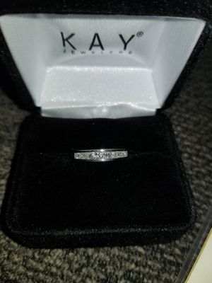 Kay Jewelers 14K White Gold 1/2 Carat Diamond Band for Sale in Fort Wayne, IN
