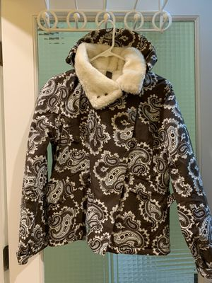 Ski Jacket- ladies by Burton- Paisley print -XS- very good condition for Sale in Vancouver, WA