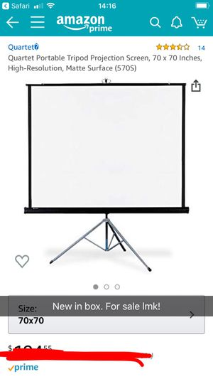 PROJECTOR SCREEN for Sale in Amarillo, TX