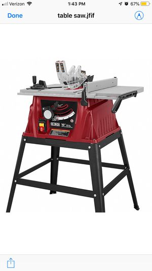 "10 "" Power Table Saw - Norge for Sale in Woodbridge, VA"