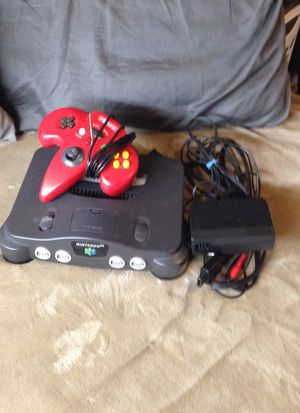 Nintendo N64 with controller for Sale in Seattle, WA