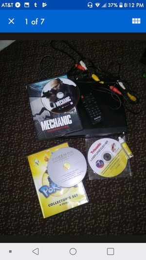 DVD Player w/ movies & cd lens cleaner for Sale in Avon, OH