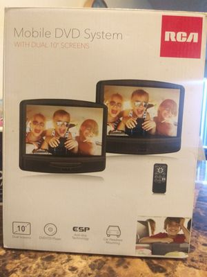 """10"""" dual screen mobile DVD system for Sale in Clovis, CA"""