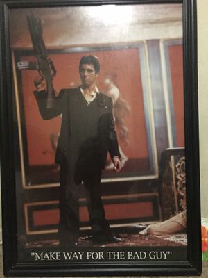 Scarface photo frame for Sale in Los Angeles, CA