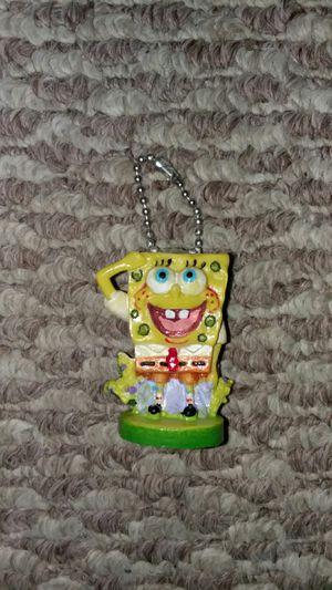 Spongebob squarepants keychain/ornament for Sale in Germantown, MD