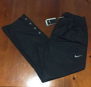 💯 AUTHENTIC MEN'S NIKE GOLF Water Repellent PRO VAPOR BLACK PANTS SWEATS SIZE LARGE NEW WITH TAGS Supreme Deal!!!! $25 Dri-Fit for Sale in Raleigh, NC