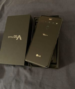 Unlocked LG V50 ThinQ 5G smartphone black for Sale in Hayward, CA