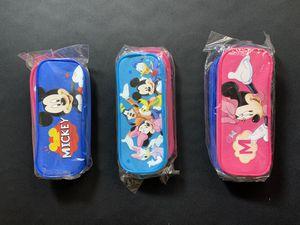 Mickey Mouse (2pc) & Trolls Pencil Pouches (single). (SOLD SEPARATE) for Sale in Pico Rivera, CA