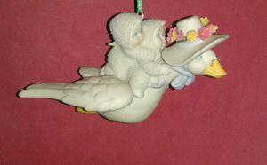 Dept 56 SNOWBABIES Stork Ornament for Sale in Aspen Hill, MD