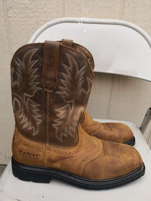 Ariat steel toe work boots size 11D for Sale in Riverside, CA