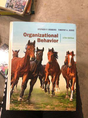 Organizational Behavior Textbook 17th Edition Stephen P Robbins Timothy A Judge for Sale in Orange, CA