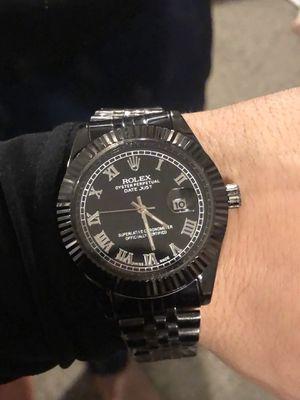 Rare luxury black watch for Sale in Turlock, CA