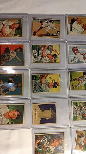 1948-1952 Bowman and Leaf Baseball Cards for Sale in Mount Pleasant, PA