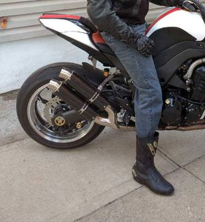 Kawasaki exhaust z1000 custom exhaust silencers for Sale in Syosset, NY
