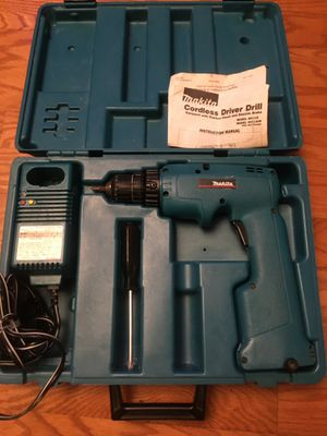 Makita drill driver charger battery carry case for Sale in San Jose, CA