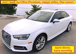 2017!Audi A4, one owner, $500 down for Sale in Sarasota, FL