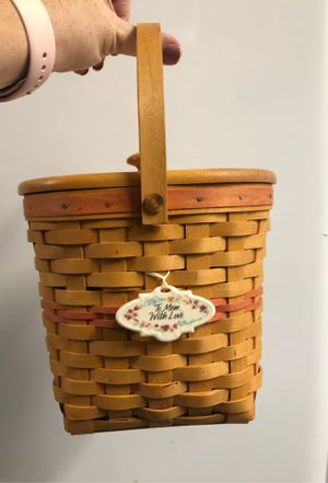 Longaberger to mom with love basket 2001 for Sale in Winter Garden, FL