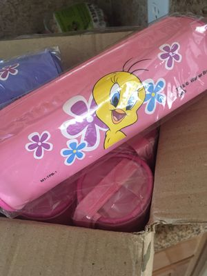 $1/each other all 11 for $8 - Warner Bros Tweedy Bird Pencil Pouches - for Sale in Ontario, CA
