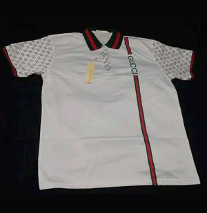 Gucci Polo Shirt Designer Versace Louis Vuitton for Sale in Clearwater, FL