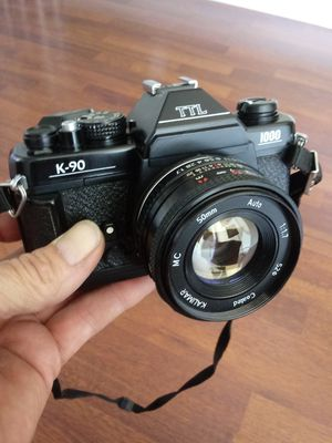 Super-Clean Kalimar K-90 w/50mm F1.7 Pancake Lens TESTED for Sale in Chino, CA