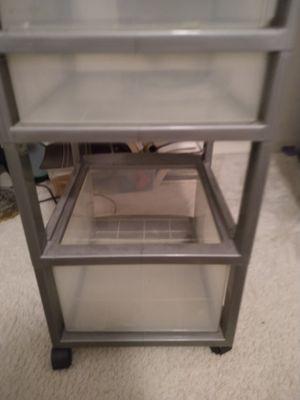 Plastic storage drawer set for Sale in Azalea Park, FL