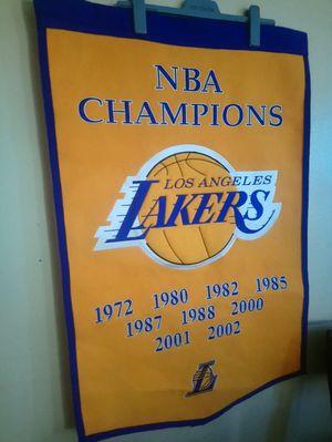 LA Lakers banner for Sale in Las Vegas, NV