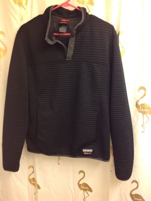 GERRY Men Pullover Sweatshirt M EUC great for hiking and outdoors, black for Sale in Federal Way, WA