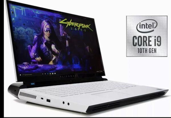 """New Alienware Area 51m R2 10th Gen i9 10900K RTX 2080 17.3"""" FHD 300Hz 1TB 64GB"""