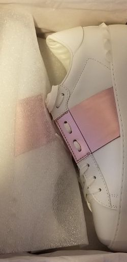 Valentino Garavani Open Sneaker in white calfskin leather for Sale in Marietta,  GA