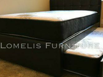 FULL/TWIN TRUNDLE BEDS W MATTRESS INCLUDED. for Sale in Corona,  CA