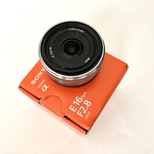 Sony 16mm f/2.8 E-Mount Wide-Angle Lens for Sale in San Leandro, CA
