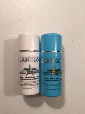 Brand new GlamGlow cleansers large $15, small $5 for Sale in Fairfax, VA
