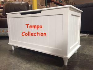 NEW, Storage Bench, White, SKU# 6609-5 for Sale in Santa Ana, CA