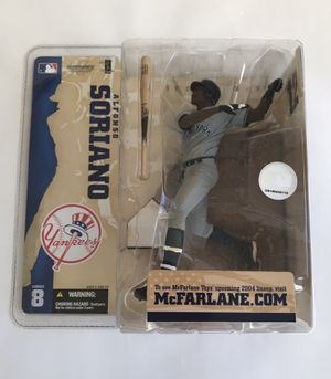 Alfonso Soriano New York Yankees McFarlane Action Figure for Sale in Portland, OR